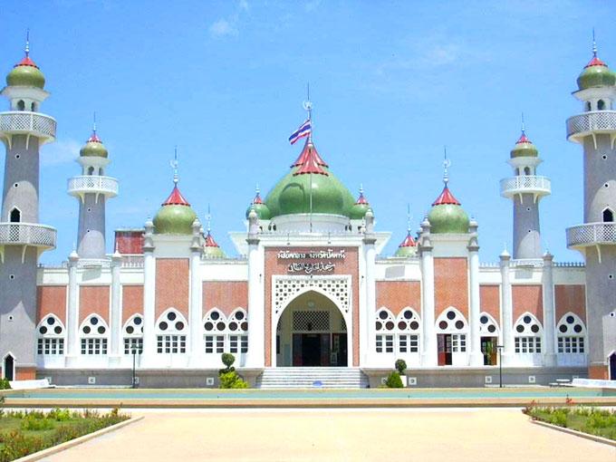 Hd wallpaper masjid - Central Mosque Pattani Province Thailand