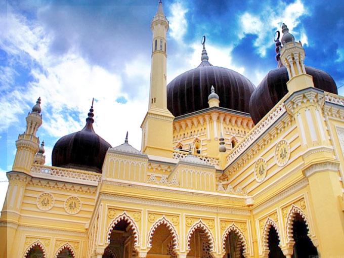 Munaram & masjid decoration